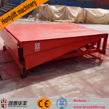 machinery machine hydraulic loading stationary container dock leveler dock ramp